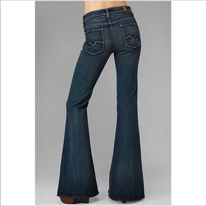 7 For All Mankind Bell Bottoms SUPER FLARE